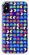 Game Monsters Seamless Generated Pattern IPhone Case