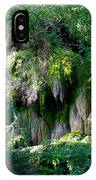 Gormon Falls Colorado Bend State Park.  IPhone Case