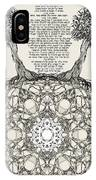 Hebrew Prayer- Toda- Thanks To The Lord IPhone Case