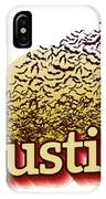 Bats Over Austin IPhone Case