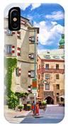 Historic Street Of Innsbruck View IPhone Case