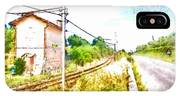 House On The Railway IPhone Case
