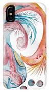 Koi Fish-watercolor IPhone Case