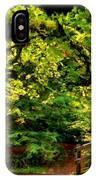 Landscape Acrylic Painting IPhone Case