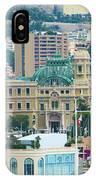 Monte Carlo Cityscape IPhone Case