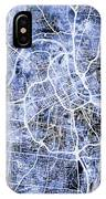 Nashville Tennessee City Map IPhone Case