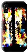 4 Panels Of Seville Abstract IPhone Case