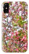 Pink Cherry Tree IPhone Case