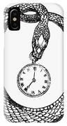 Pocket Watch, 19th Century IPhone Case