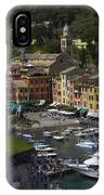 Portofino In The Italian Riviera In Liguria Italy IPhone Case