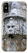 Public Fountain In Dubrovnik Croatia IPhone Case