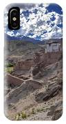 Ruins At Basgo Monastery Leh Ladakh Jammu And Kashmir India IPhone Case