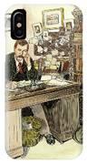 Sir Arthur Conan Doyle IPhone Case