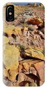 Splash Of Color In Valley Of Fire IPhone Case