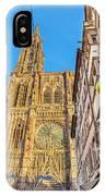 Strasbourg,christmas Market, Alsace France  IPhone Case