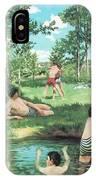 Summer Scene  IPhone Case