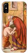 The Return Of The Prodigal Son IPhone Case