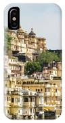 Udaipur City Palace In Rajasthan IPhone Case