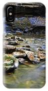 Upper Falls Holly River State Park IPhone Case