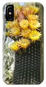 Yellow Cactus Flowers IPhone Case