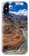 Zanskar River Ladakh Jammu And Kashmir India IPhone Case