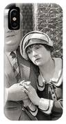 Silent Film Still: Couples IPhone Case