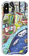 42nd And 8th Street IPhone Case