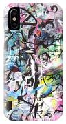 Abstract Expressionsim Art IPhone Case