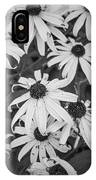 4400- Daisies Black And White IPhone Case
