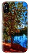 Landscape Paintings Canvas Prints IPhone Case