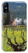 4b6394 Mustard In The Vineyards IPhone Case