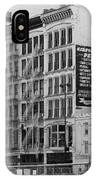 4th St Buildings  IPhone Case