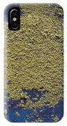Aerosolized Droplet Of Toilet Water Sem IPhone Case