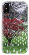 Arlington Cemetery Washington Dc Usa IPhone Case