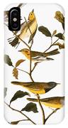Audubon: Warbler IPhone Case