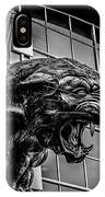 Black Panther Statue IPhone Case