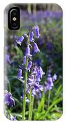 Bluebells Near Effingham In The Surrey Hills England Uk IPhone Case