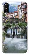 Canals Of Annecy IPhone Case