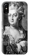 Catherine II (1729-1796) IPhone Case