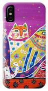 5 Cats IPhone Case