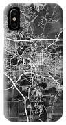 Iowa City Map IPhone Case