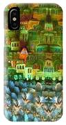 Jerusalem -watercolor On Parchment IPhone Case