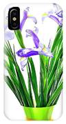 Majestic Iris IPhone Case