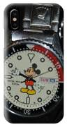 Mickey Mouse Watch IPhone Case