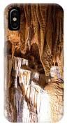 Onondaga Cave Formations IPhone Case