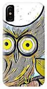Owl Midnight IPhone Case