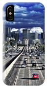 5 Pm Downtown Next Exit IPhone Case