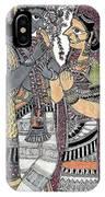 Radha Krishna Color IPhone Case