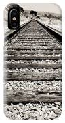 Railway Tracks  IPhone Case