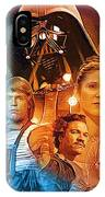 Star Wars Episode 2 Art IPhone Case